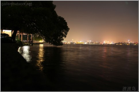 hangzhou night landscape