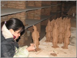 molding terracotta - Daniel Zhao