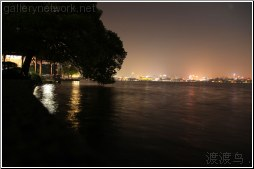 hangzhou night landscape - 渡渡鸟 .