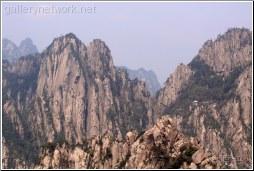 huangshan steep cliffs