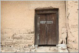 mud house door