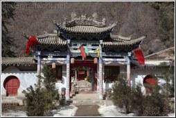 gansu historic building