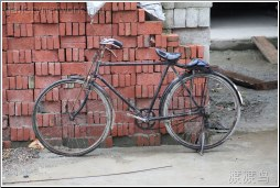 old brick bike