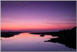 sunset polzeath
