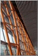 orange roof structure