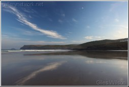 Polzeath beach-cornwall