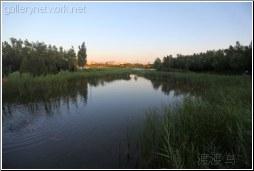 olympic green lake
