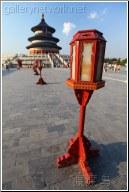 red lantern at 天坛