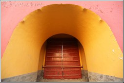 thick wall red gate