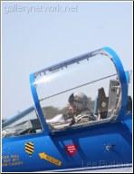 F104 Pilot and cockpit