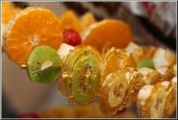 glazed fruit