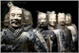 replica terracotta warriors