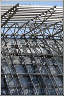 metal frame glass windows