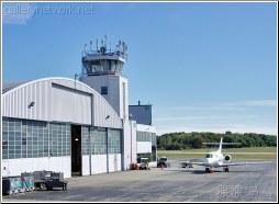 private jet hanger