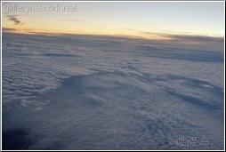 aerial multiple deck clouds