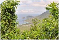 island mountain top