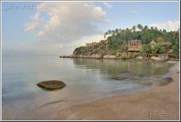 early morning thailand beach
