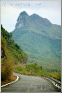 guangxi mountain road