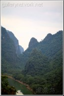 river landscape - 渡渡鸟 .