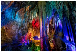 multicolored cavern