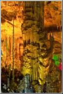 multicolored Stalagmites