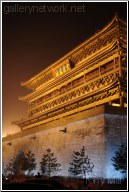 Ancient Building-Drum Tower in Xi'an, China
