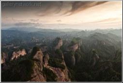 china mountain sunrise - C K