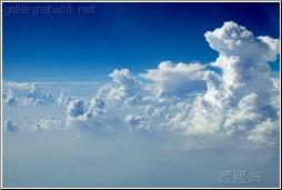 rising air